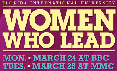 FIU's Women Who Lead Conference